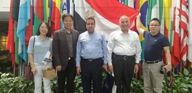 الصين تهدي جامعة القناة محطة تحلية متنقلة لعلاج أزمة التصحر ونقص الماء