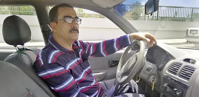 «أحمد» سائق تاكسى