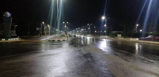 """""""الأرصاد"""": سقوط أمطار غزيرة تصل لحد السيول.. ودرجة الحرارة 8 مئوية"""