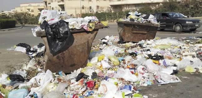 طلاء صناديق القمامة لإعادة المظهر الحضارى للغردقة