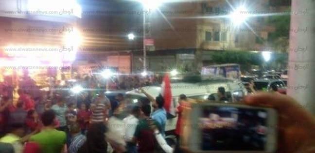 أبناء كفر الشيخ يحتفلون بفوز منتخب مصر والصعود لكأس العالم