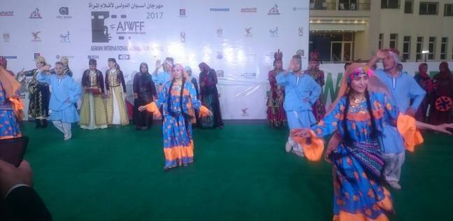 توافد النجوم على افتتاح مهرجان أسوان لأفلام المراة