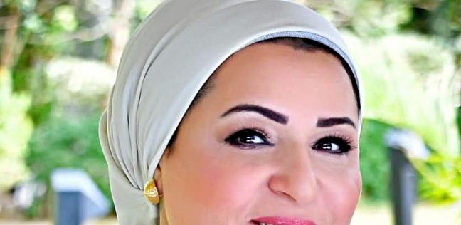 9e90f77aa الوطن   مصر   قرينة الرئيس تدلي بصوتها في الاستفتاء على التعديلات ...