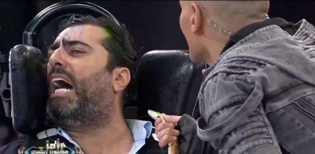 ثعبان يستخدمه رامز جلال في برنامجه