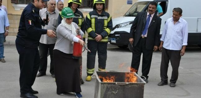التعليم: تنفيذ خطة الإخلاء فى حالة الكوارث بالمدرسة السنية بالقاهرة