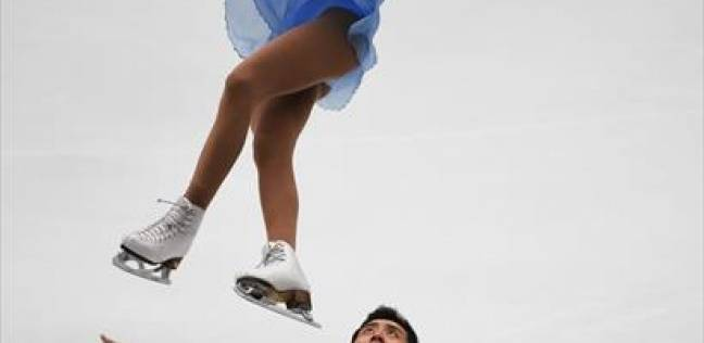 بالصور| مسابقة التزلج على الجليد في الصين
