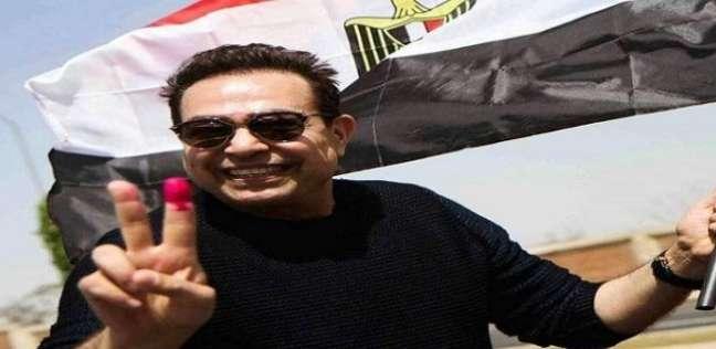 بالصور| مشاهير أدلوا بأصواتهم في أول أيام الانتخابات