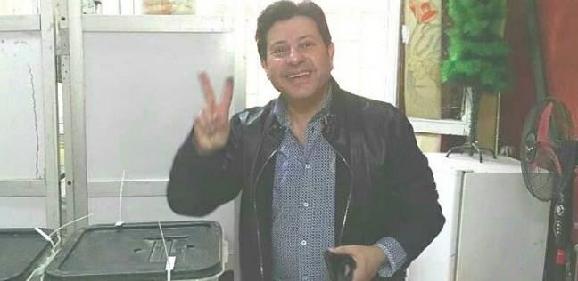 هاني شاكر يدلي بصوته في انتخابات الرئاسة