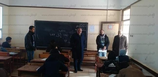 انطلاق امتحانات الشهادة الإعدادية في مطروح
