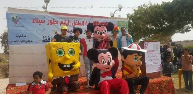 """تكريم 400 طفل و10 أمهات مثاليات في احتفالات """"الطفل اليتيم"""" بجنوب سيناء"""