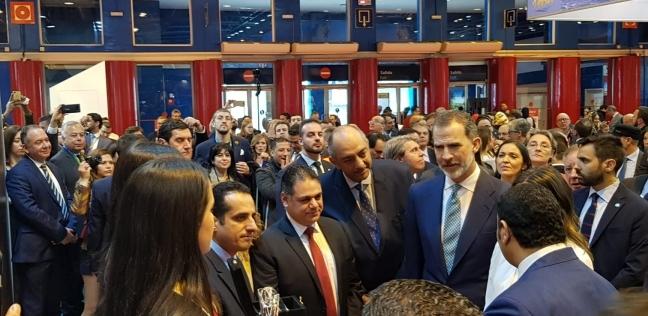 """رئيس """"المصرية لتنشيط السياحة"""" يفتتح الجناح المصري بإسبانيا"""