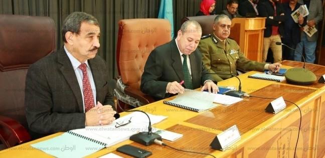 بالصور  محافظ كفر الشيخ يترأس جلسة المجلس التنفيذي الشهري