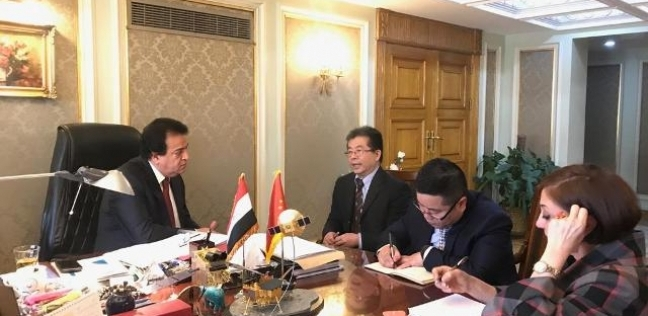 وزير التعليم العالي يبحث آليات التعاون مع الصين