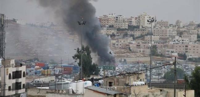 بالصور| صحيفة أردنية تكشف تفاصيل حادث حريق جمرك عمان