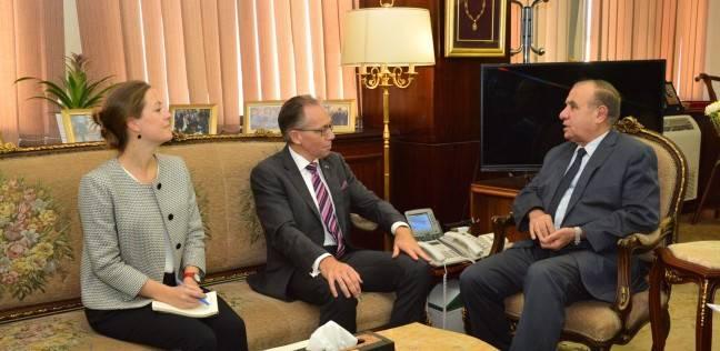 وزير التنمية المحلية يبحث مع سفير أستراليا الاستثمار في مصر