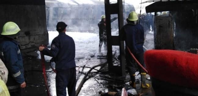 بالأسماء| ضحايا حادث حريق محطة مصر في مستشفى الهلال