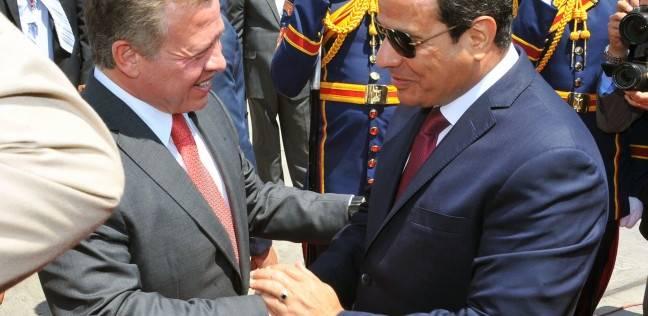 العاهل الأردني يصل مطار القاهرة الدولي لمقابلة الرئيس عبدالفتاح السيسي