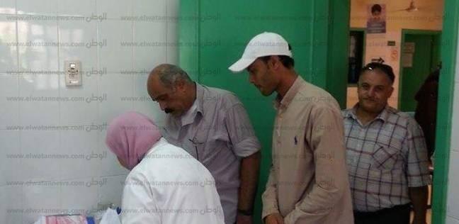 رئيس مدينة كفر الدوار يتفقد الوحدة الصحية بقرية الأمراء