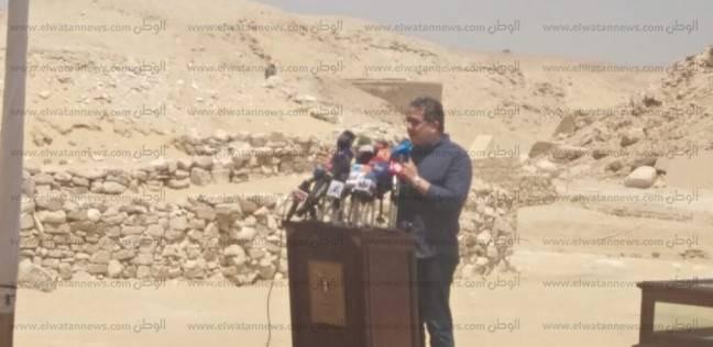 """وزير الآثار: مقبرة """"ميحو"""" بسقارة متاحة لزيارة الجمهور للمرة الأولى"""