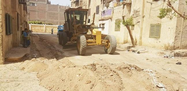 حملة نظافة مكبرة بقرية بناويط بسوهاج