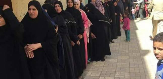 تزايد أعداد الناخبين على لجان الشوبك الغربي بمحافظة الجيزة