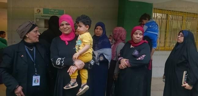 توافد السيدات بكثافة على التصويت في بولاق أبوالعلا
