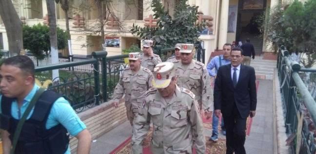 قيادات القوات المسلحة يتفقدون اللجان بالمنوفية