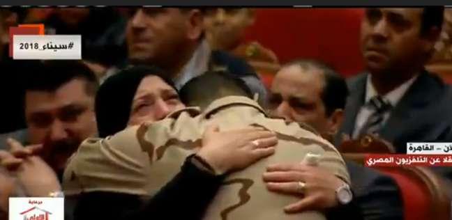 """والدة الشهيد شريف عمر: """"بكرة هكون أول واحدة على باب اللجنة"""""""