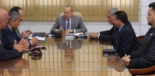 """محافظ دمياط: 1.25 مليون جنيه لرصف الطرق العامة والشوارع بـ""""العبيدية"""""""