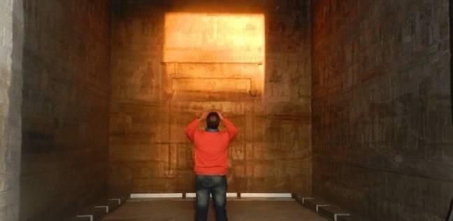 معبد دندرة يستعد لاستقبال زواره في شم النسيم