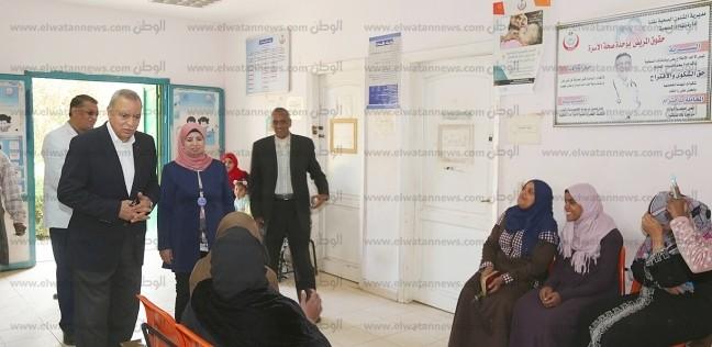 محافظ قنا: فحص 405 ألف مواطن ضمن حملة «100 مليون صحة»