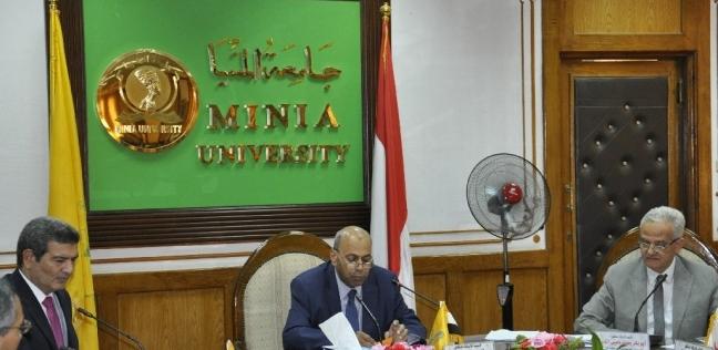 المحافظات   رئيس جامعة المنيا: إنشاء موقع للرد على الشائعات ومواجهتها