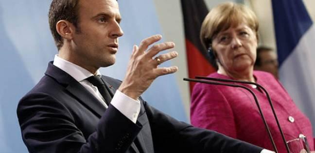 ميركل في باريس لإجراء محادثات مع ماكرون أوائل سبتمبر