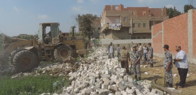 إزالة 34 حالة تعدِ على الأراضي الزراعية في حملة مكبرة بالإسكندرية