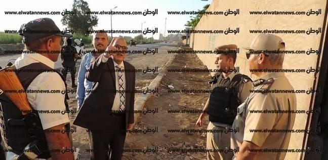 بالصور| مدير أمن كفر الشيخ يتابع الحالة الأمنية في أول أيام رمضان