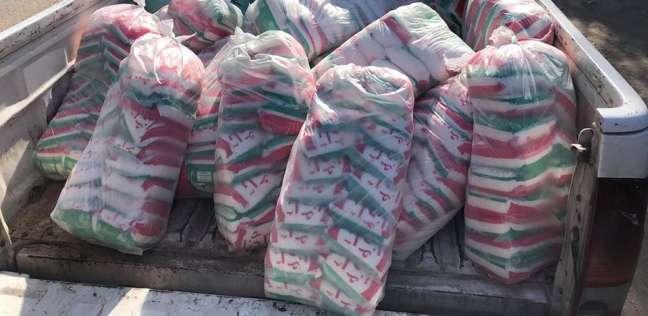 مصادرة 300 لتر سولار و560 عبوة مواد غذائية في حملة تموينية بالغربية