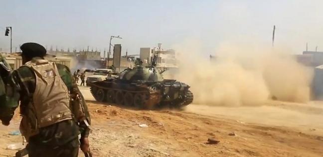 العرب و العالم   مصدر ليبى: الجيش ى فى طريقه إلى مطار «طرابلس»