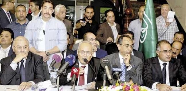 """""""الحركة الوطنية"""" يغلق باب الترشح لرئاسته غدا.. و""""عليا الوفد"""" الخميس"""