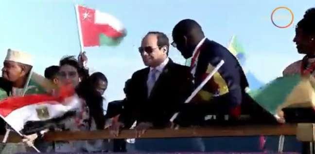 عاجل  السيسي يصل مقر انعقاد ملتقى الشباب العربي-الأفريقي