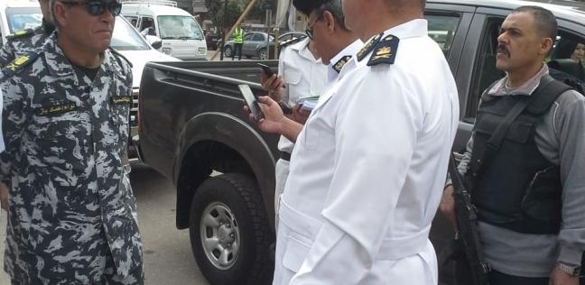 """حكمدار الجيزة يتفقد لجنة """"هشام شتا"""".. وغرفة عمليات لمتابعة الاستفتاء"""