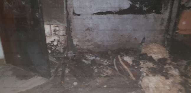 """بالصور  المتهم بحرق عائلة زوجته يعترف: """"ولعت فيهم علشان مراتي طلبت الطلاق"""""""