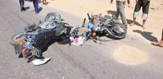 مصرع طالب وإصابة آخر في تصادم سيارة وموتوسيكل بالإسكندرية