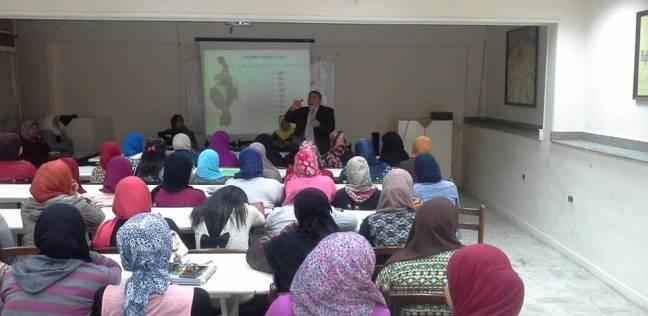 """""""الري"""" توعي طالبات الخدمة الاجتماعية بـ6 أكتوبر بأهمية قطرة المياه"""
