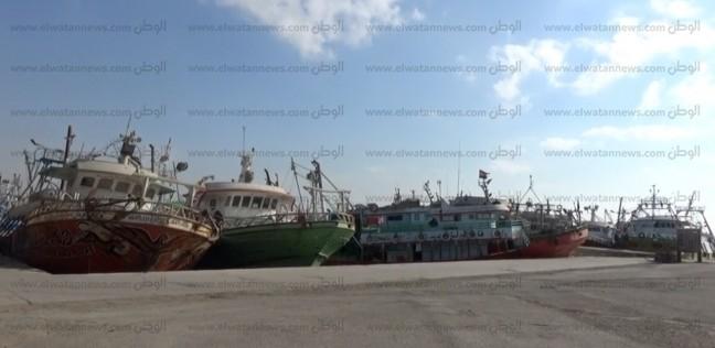 فتح بوغاز البرلس أمام حركة الملاحة البحرية بكفر الشيخ