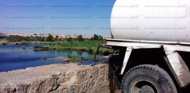 جريمة بالمنيا: ادفع 1000 جنيه وتخلص من الصرف الصحى لمنزلك فى النيل