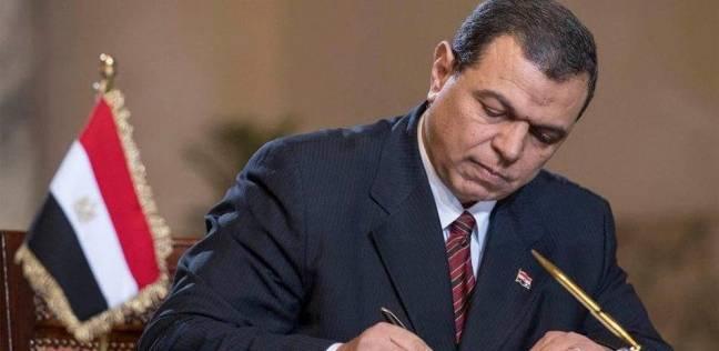 """محمد سعفان يتفقد غرفة عمليات """"القوى العاملة"""" لمتابعة سير الانتخابات"""