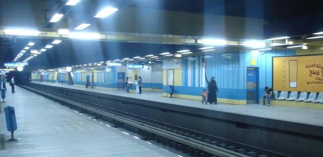 عاجل| مصرع سيدة سقطت أمام أحد قطارات المترو بمحطة الدقي