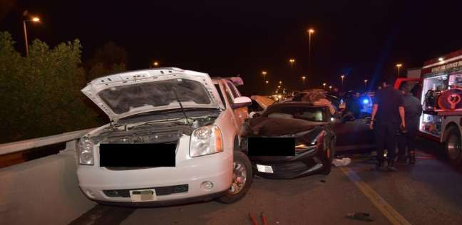 مصرع 6 مصريين في حادث سير مروع على أحد الطرق السريعة بالكويت