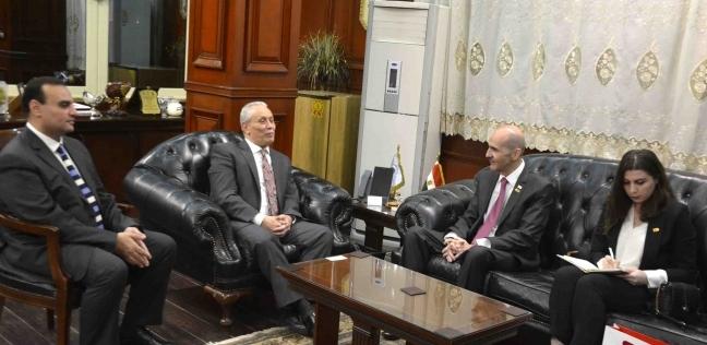 محافظ الأقصر يستقبل سفير جورجيا في القاهرة