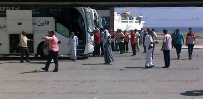 ميناء نويبع يستقبل السفينة «سينا» وعلى متنها 277 راكبا